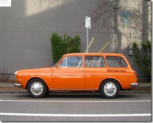 1970 Volkswagen Type 3 1500 Variant Squareback Wagon.  - 3